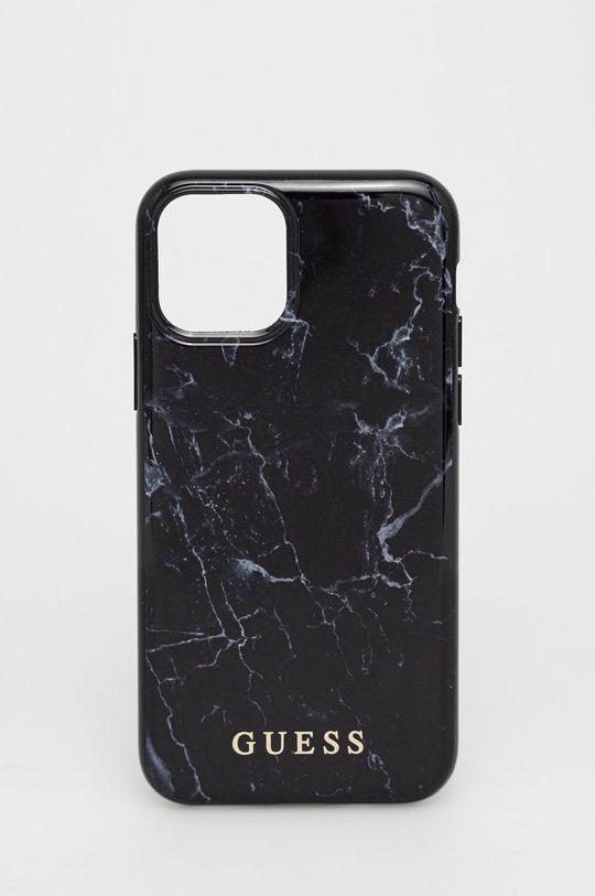 czarny Guess - Etui na telefon iPhone 11 Pro Unisex