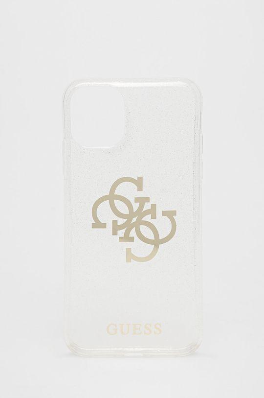 transparentny Guess - Etui na telefon iPhone 11 Unisex