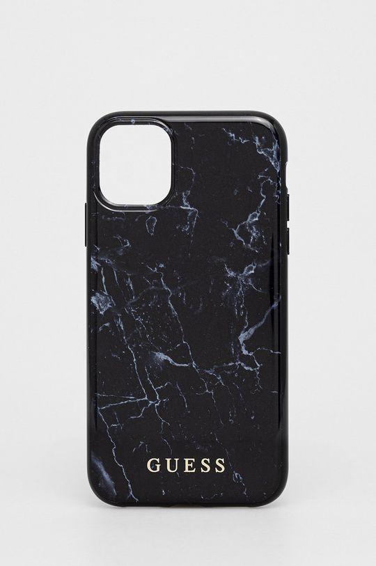czarny Guess - Etui na telefon iPhone 11 Unisex