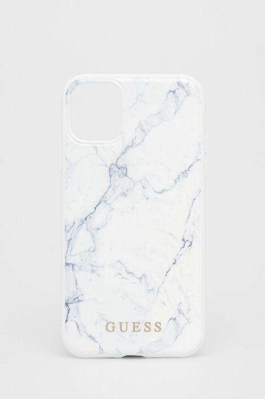 biały Guess - Etui na telefon iPhone 11 Unisex