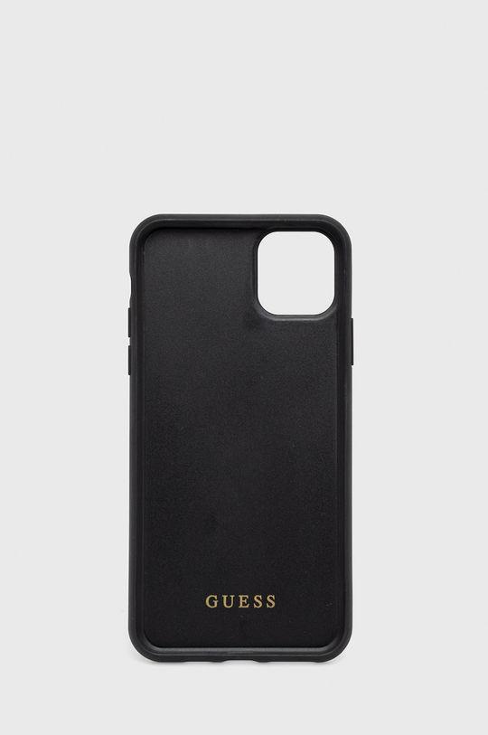 Guess - Etui na telefon iPhone 11 Pro Max czarny