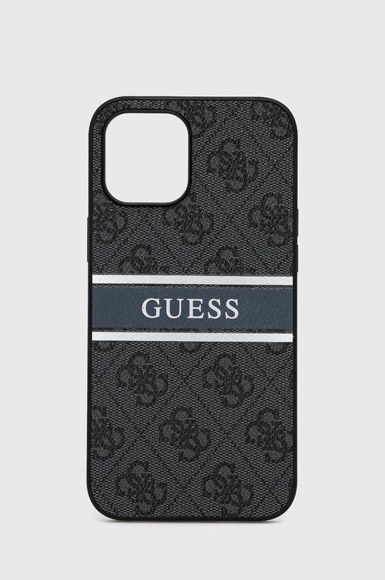 szary Guess - Etui na telefon iPhone 12 Pro Max Unisex