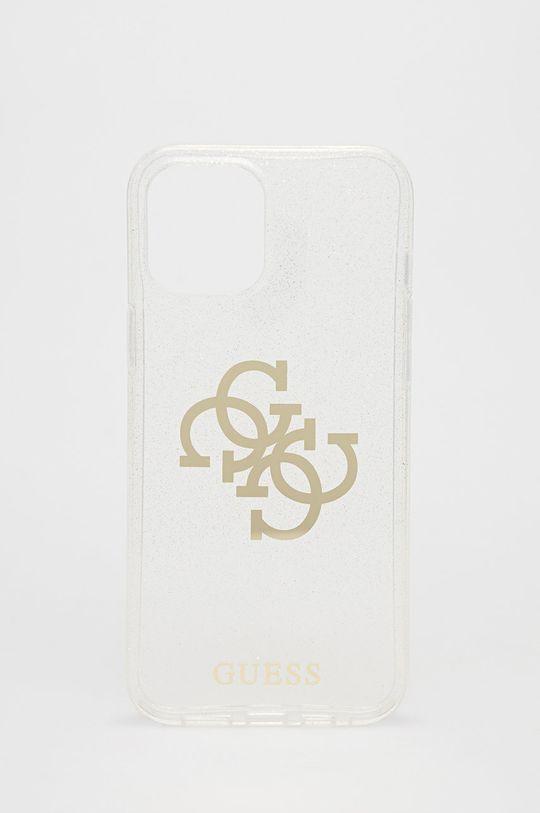 transparentny Guess - Etui na telefon iPhone 12 Pro Max Unisex