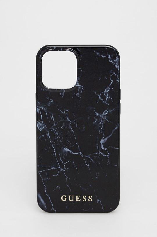 czarny Guess - Etui na telefon iPhone 12ProMax Unisex