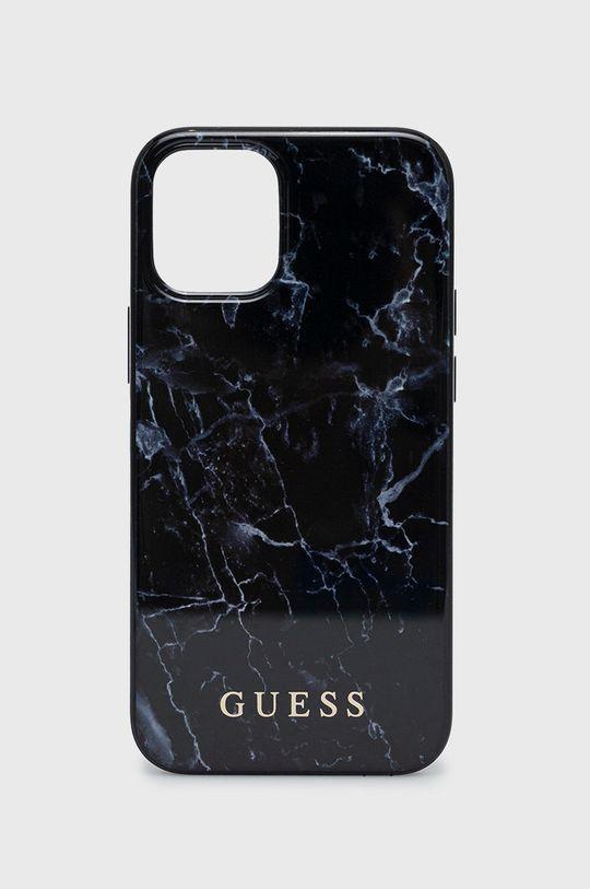 negru Guess - Etui pentru telefon iPhone 12 mini Unisex