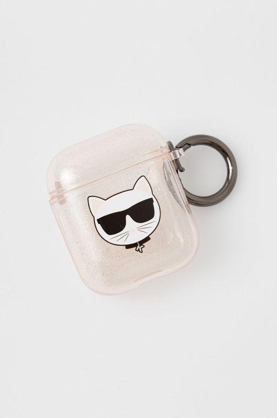 transparentny Karl Lagerfeld - Pokrowiec na Airpods Unisex