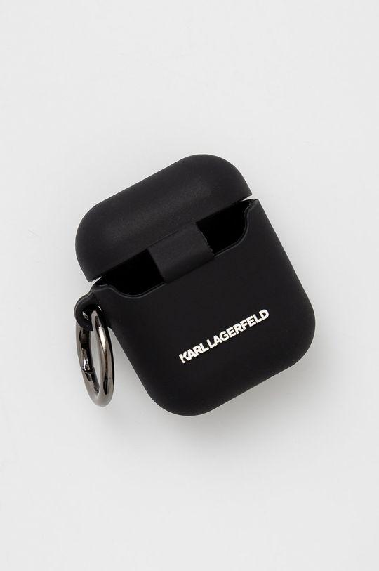 Karl Lagerfeld - Pokrowiec na Airpods czarny