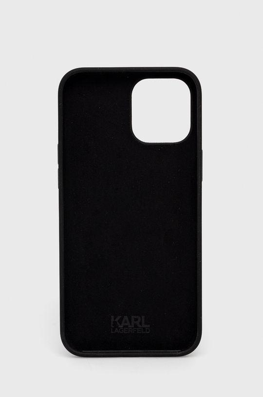 Karl Lagerfeld - Etui na telefon iPhone 12-Pro Max czarny