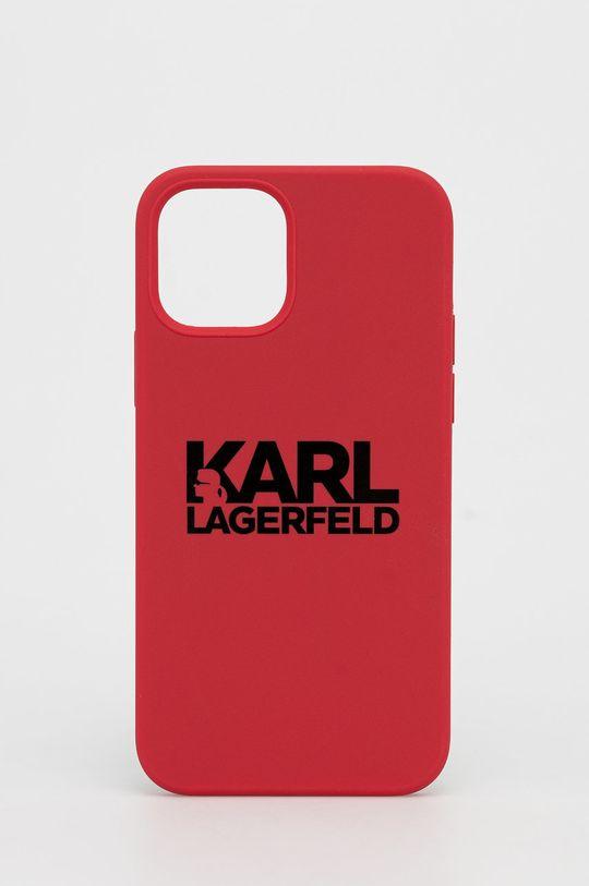 czerwony Karl Lagerfeld - Etui na telefon iPhone 12/12 Pro Unisex