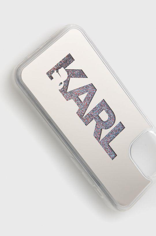 Karl Lagerfeld - Etui na telefon iPhone 12 mini Materiał syntetyczny