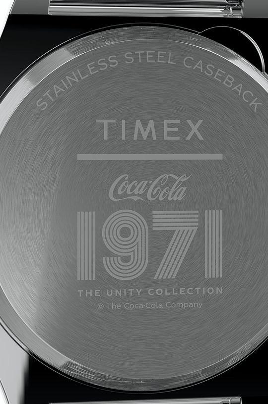 srebrny Timex - Zegarek TW2V25900