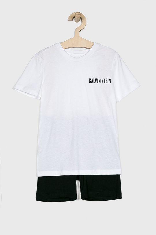 alb Calvin Klein Underwear - Pijama copii 104-176 cm De băieți