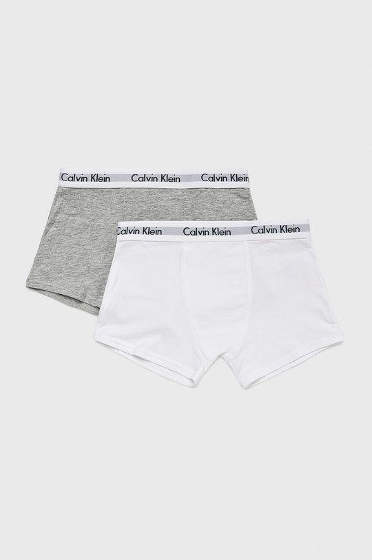 alb Calvin Klein Underwear - Boxeri copii (2-pack) De băieți