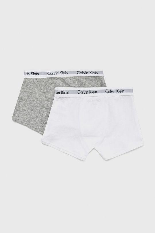 Calvin Klein Underwear - Boxeri copii (2-pack) alb