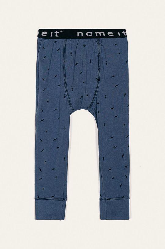 niebieski Name it - Spodnie piżamowe dziecięce 80-122 cm Chłopięcy