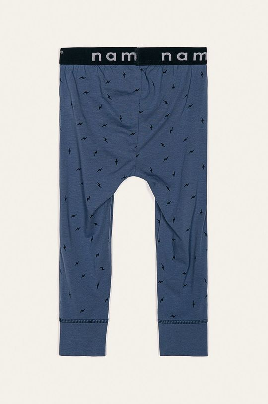 Name it - Spodnie piżamowe dziecięce 80-122 cm niebieski