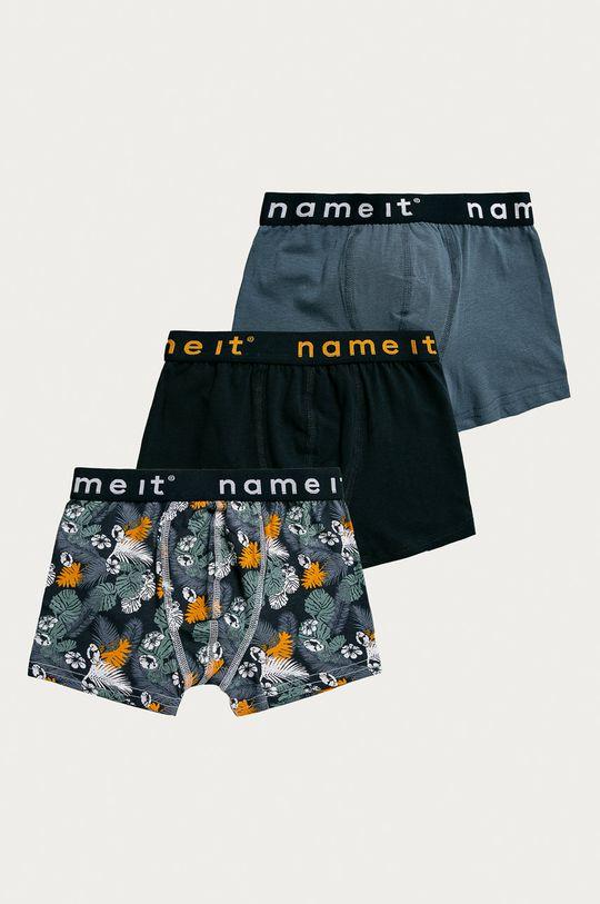 niebieski Name it - Bokserki dziecięce (3-pack) Chłopięcy