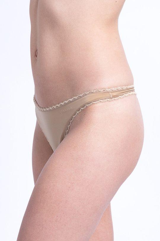 Calvin Klein Underwear - Tanga béžová