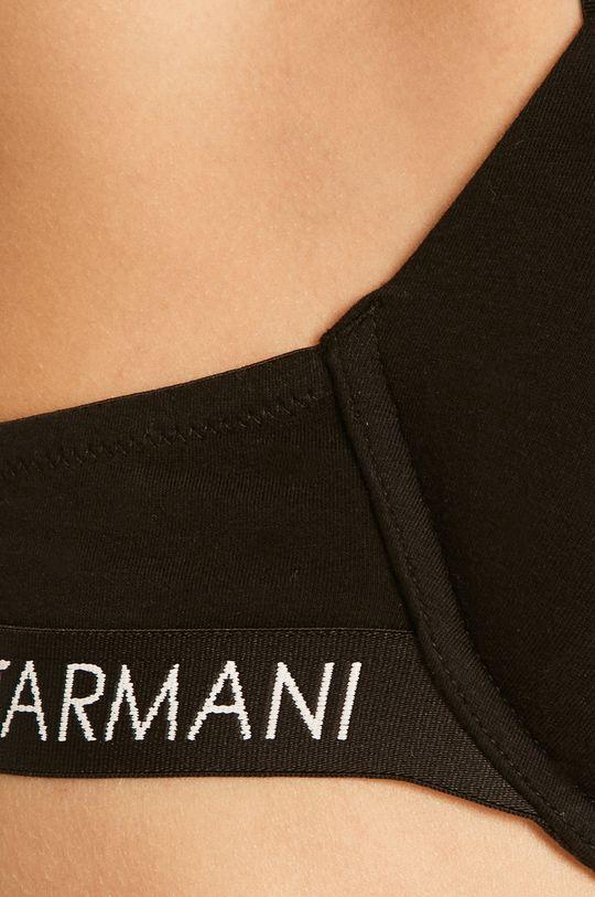 Emporio Armani - Sutien Material 1: 95% Bumbac, 5% Elastan Material 2: 13% Elastan, 87% Poliamida Material 3: 100% Poliester