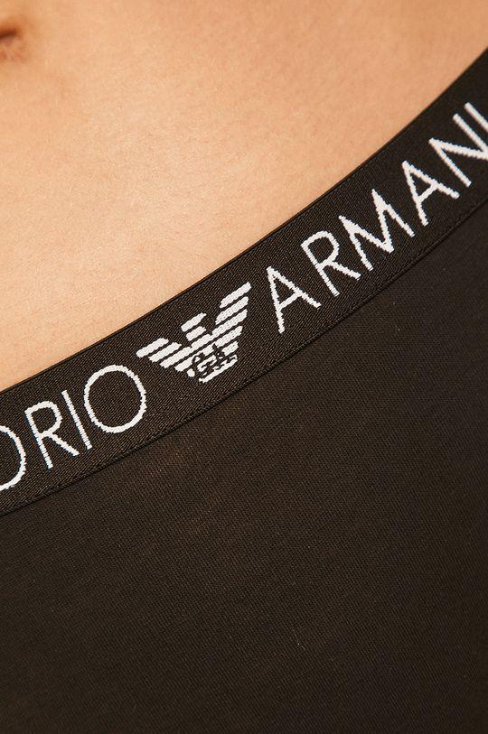 čierna Emporio Armani - Tangá (2-pak)