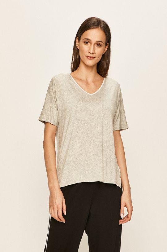 světle šedá Dkny - Pyžamové tričko Dámský