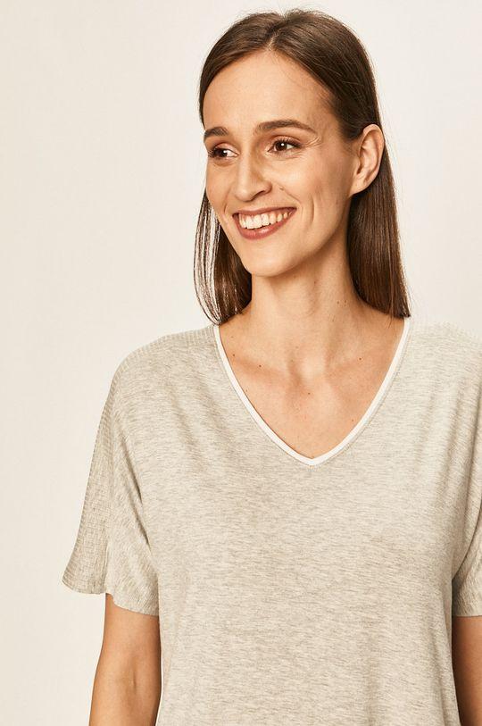 Dkny - Pyžamové tričko 7% Elastan, 93% Modal