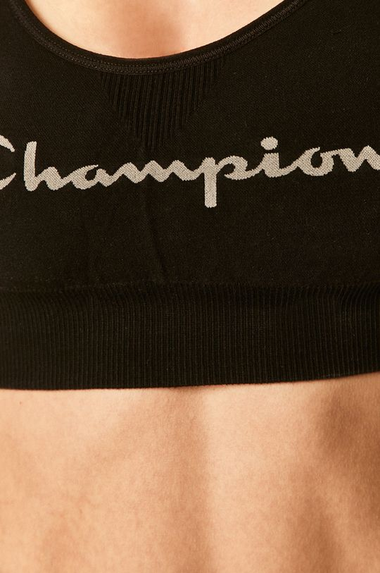 czarny Champion - Biustonosz sportowy