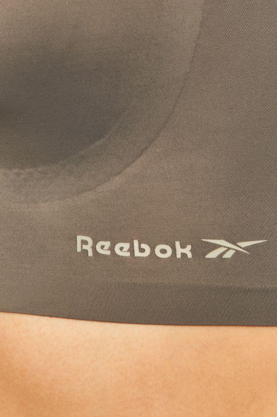 szary Reebok - Biustonosz sportowy