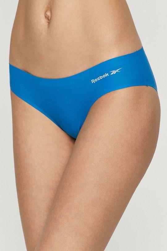 niebieski Reebok - Figi (3-PACK) Damski