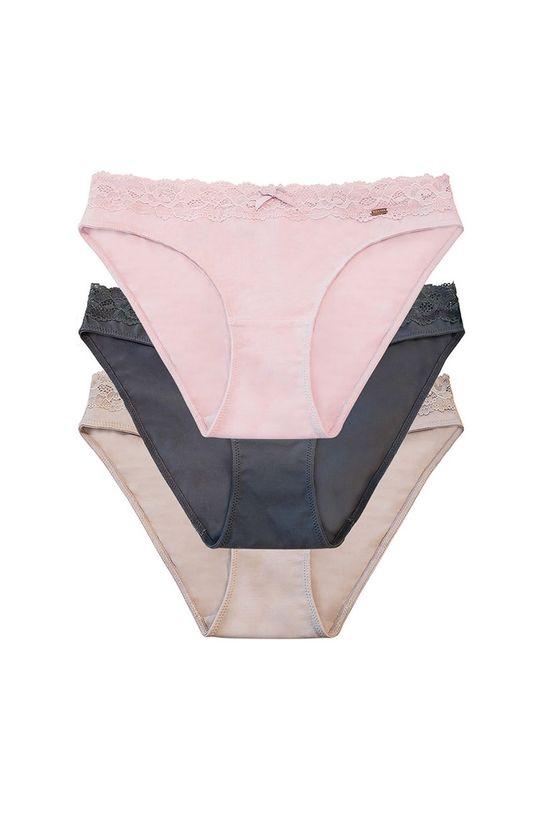 Dorina - Kalhotky NALA (3-PACK)  57% Bavlna, 5% Elastan, 38% Polyester