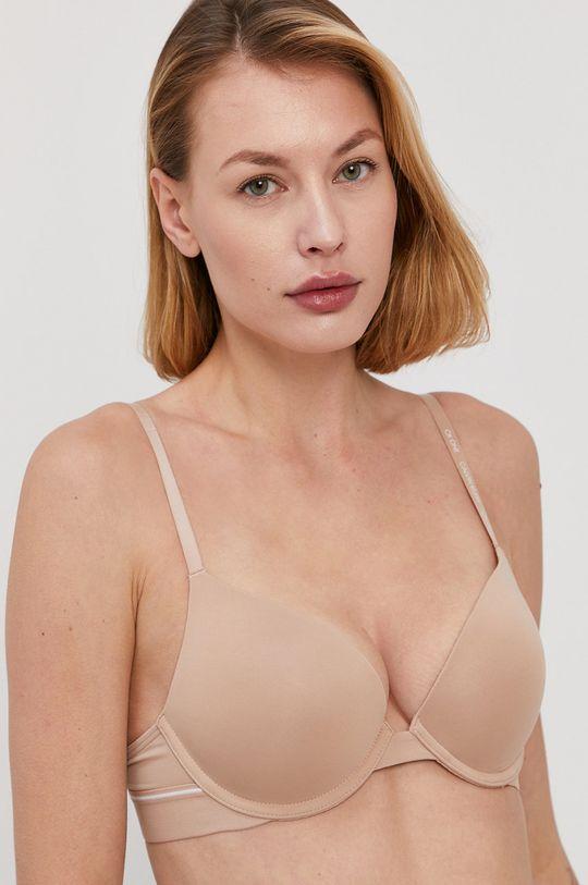 beżowy Calvin Klein Underwear - Biustonosz CK One Damski