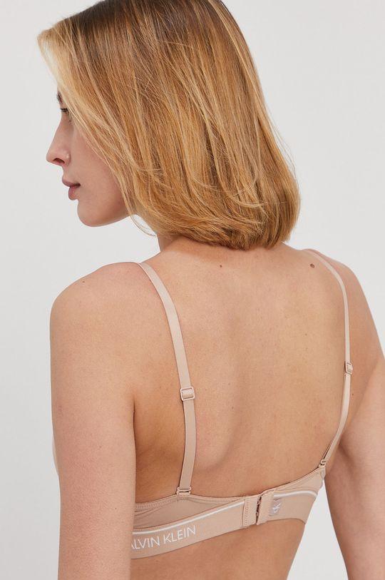 Calvin Klein Underwear - Biustonosz CK One beżowy