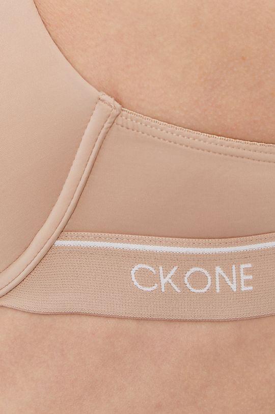 Calvin Klein Underwear - Biustonosz CK One Inne materiały: 13 % Elastan, 56 % Nylon, 31 % Poliester, Materiał 1: 20 % Elastan, 80 % Nylon, Materiał 2: 100 % Poliester, Materiał 3: 29 % Elastan, 71 % Nylon