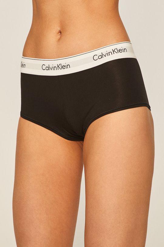 czarny Calvin Klein Underwear - Figi Boyshort Damski