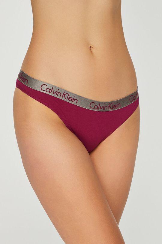 ostrá růžová Calvin Klein Underwear - tanga Thong Dámský