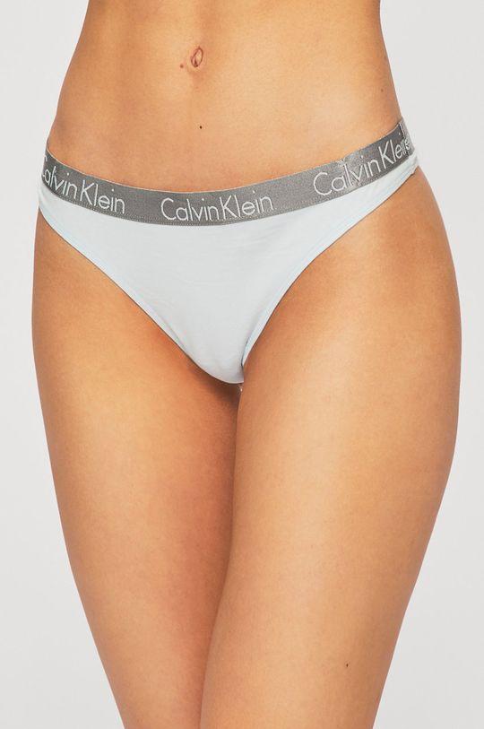 modrá Calvin Klein Underwear - tanga Thong Dámský