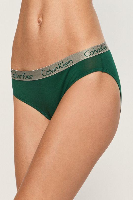 tmavě zelená Calvin Klein Underwear - kalhotky Dámský