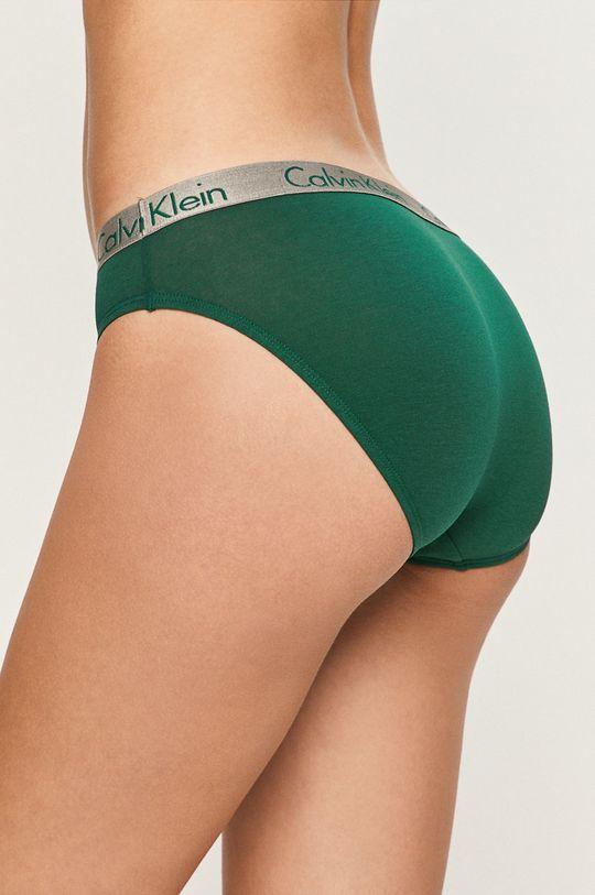 Calvin Klein Underwear - kalhotky tmavě zelená