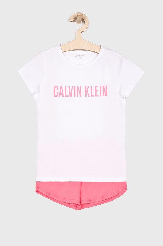 růžová Calvin Klein Underwear - Dětské pyžamo 104-176 cm Dívčí