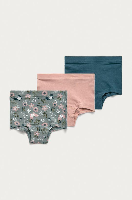 ružovofialová Name it - Detské nohavičky (3-pak) Dievčenský
