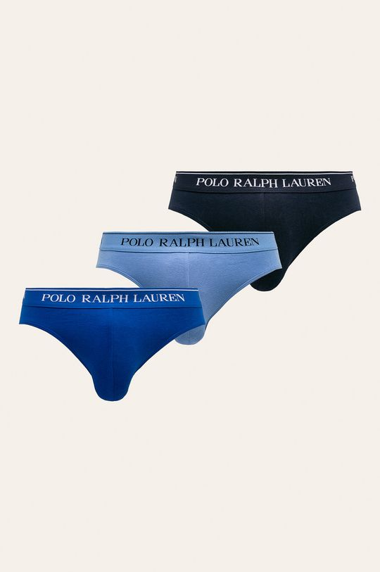 modrá Polo Ralph Lauren - Slipy (3-pak) Pánsky