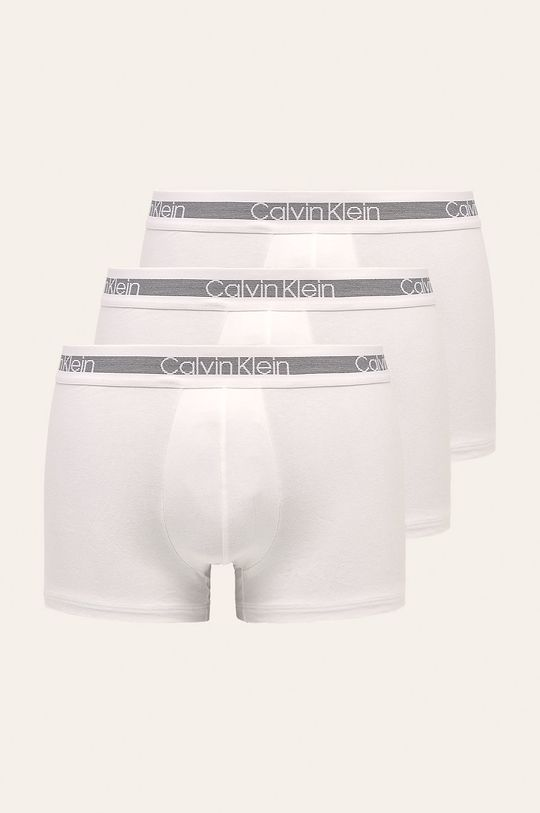 biały Calvin Klein Underwear - Bokserki (3 pack) Męski
