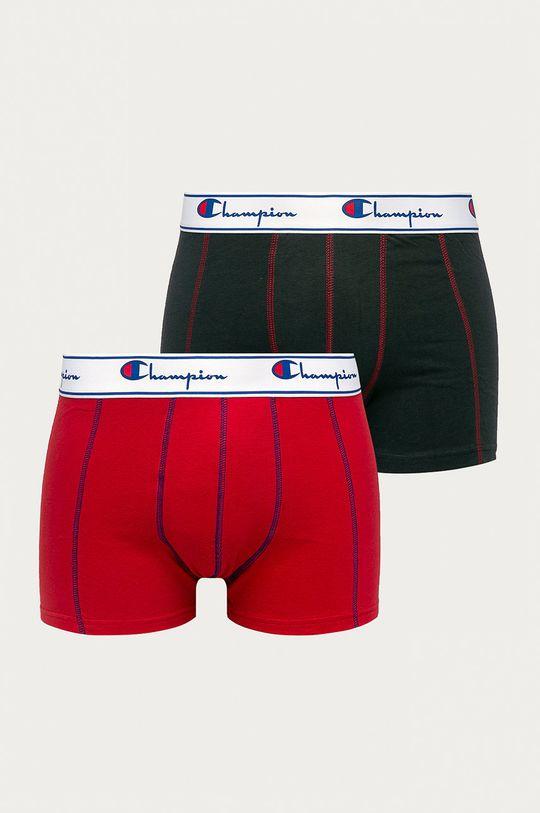 červená Champion - Boxerky (2 pack) Pánský