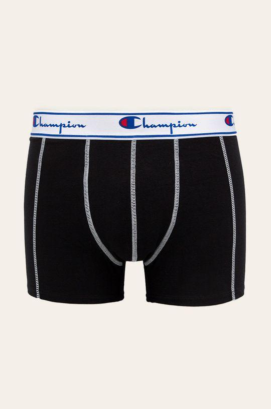 černá Champion - Boxerky (3-pack) Pánský