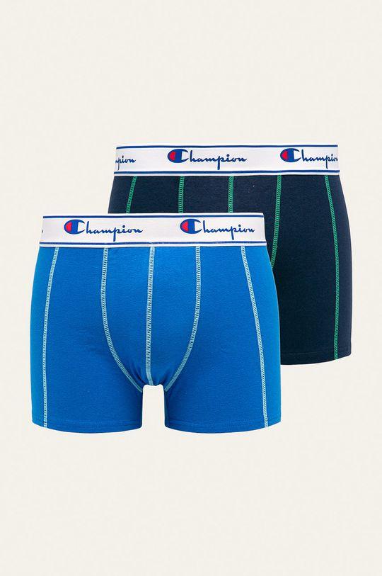 modrá Champion - Boxerky (2-pack) Pánský