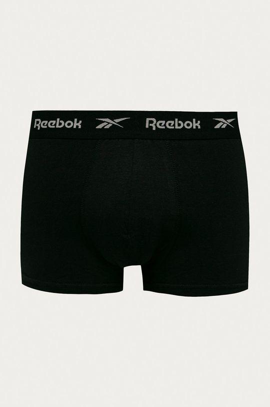 Reebok - Boxerky (5-pak) čierna