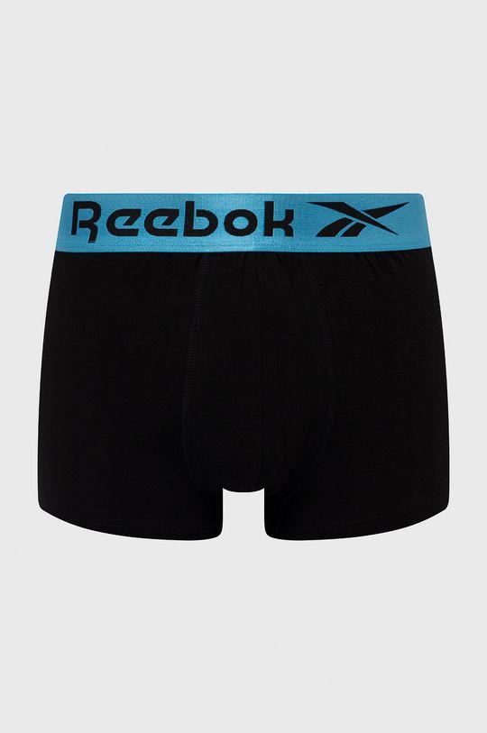 Reebok - Bokserki (3-pack) czarny