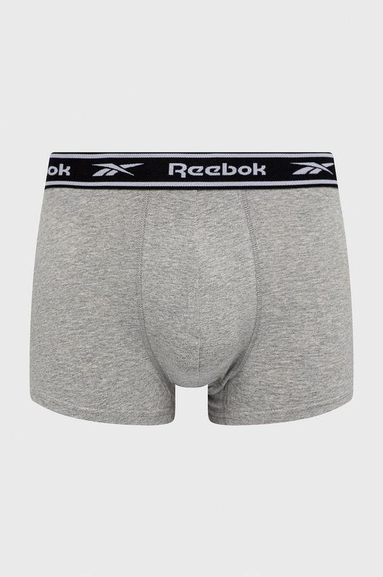 Reebok - Boxerky (3-pack) šedá