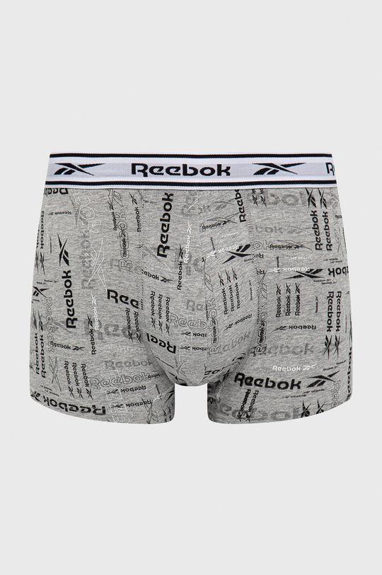 šedá Reebok - Boxerky (3-pack)