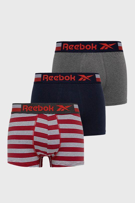 multicolor Reebok - Bokserki (3-pack) Męski